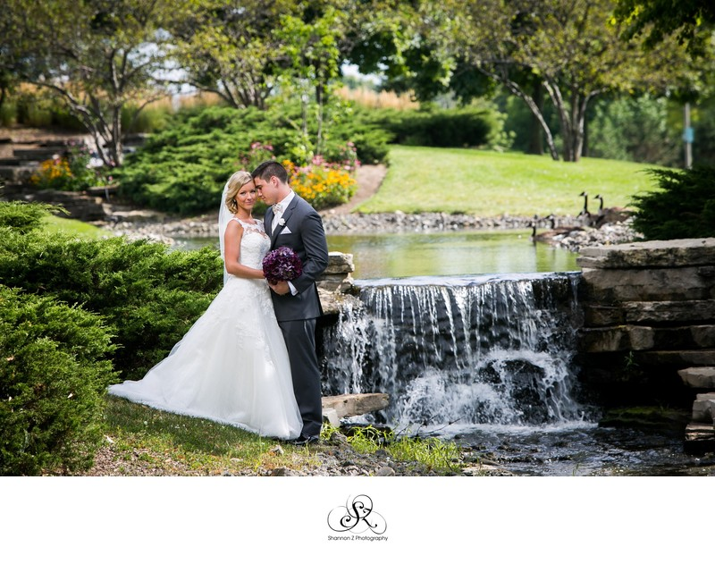 Waterfall at Wedgewood Weddings Northshore