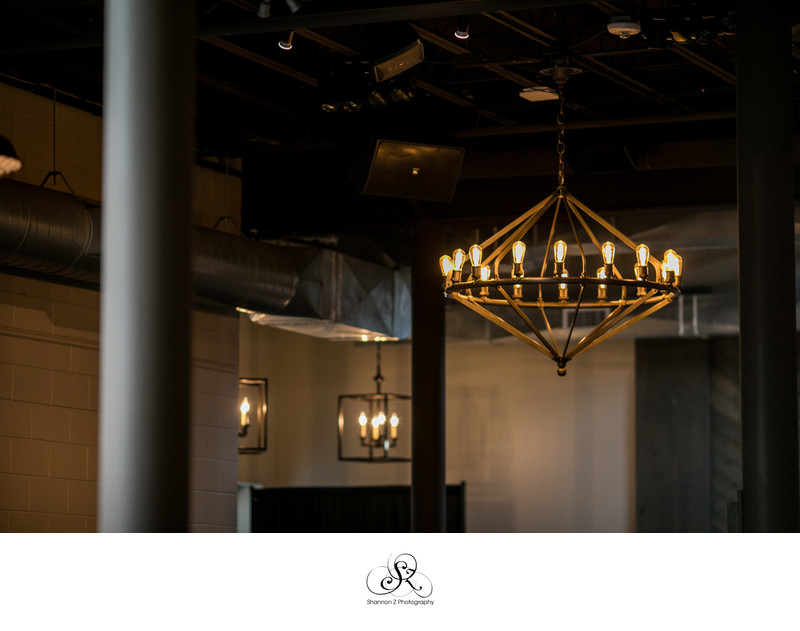 The Atrium: Vintage Chandelier