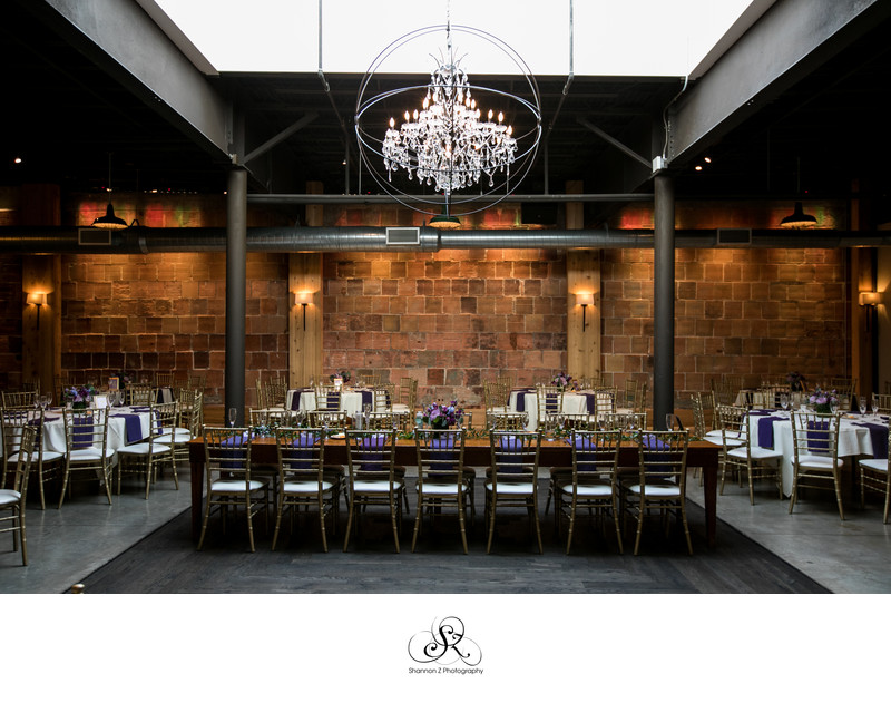 The Atrium: Wedding Head Table