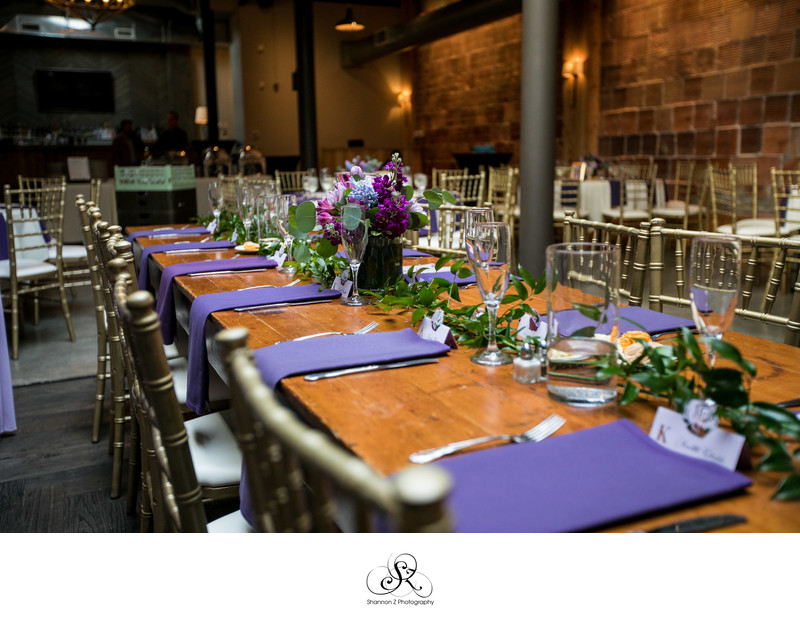 The Atrium: Wedding Reception