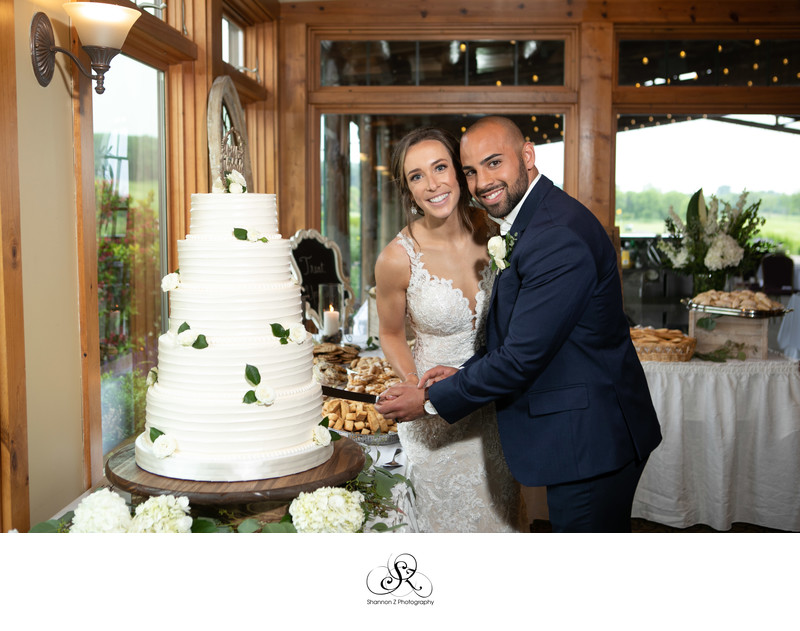 Cut the Cake: Wedding Day