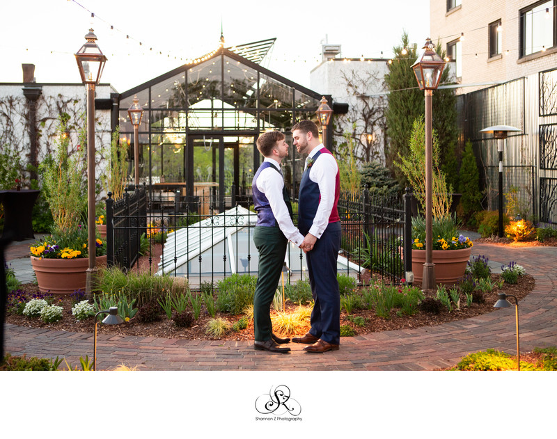 The Atrium Mke: LGBTQ Friendly Wedding Photography