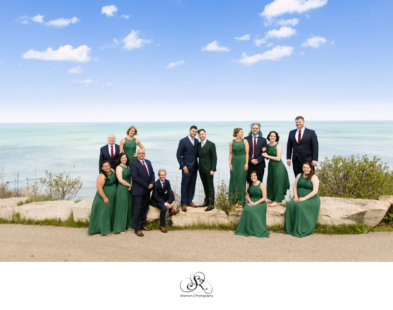 Lake Michigan: LGBTQ Friendly Wedding Photography