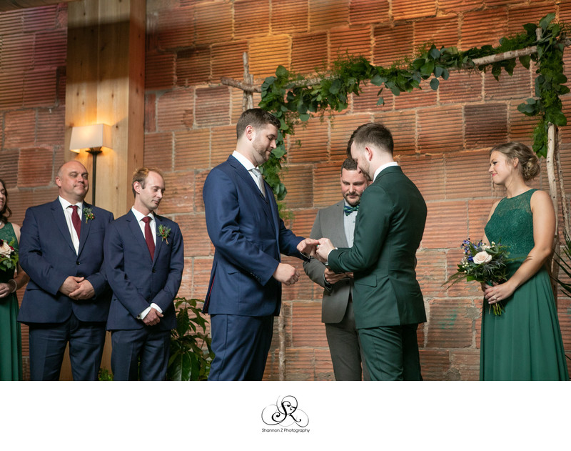 LGBTQ Friendly Wedding Photography: Ring Exchange