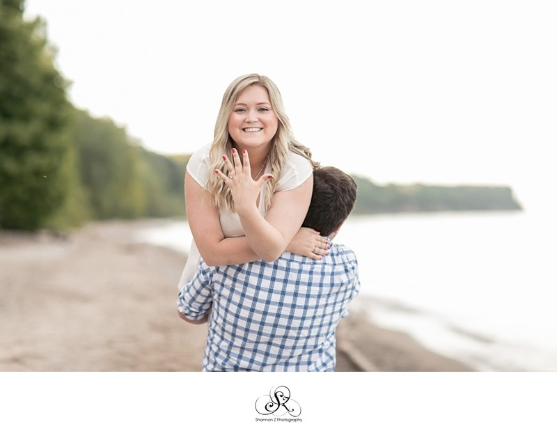 Grant Park Engagement: Romantic Photography