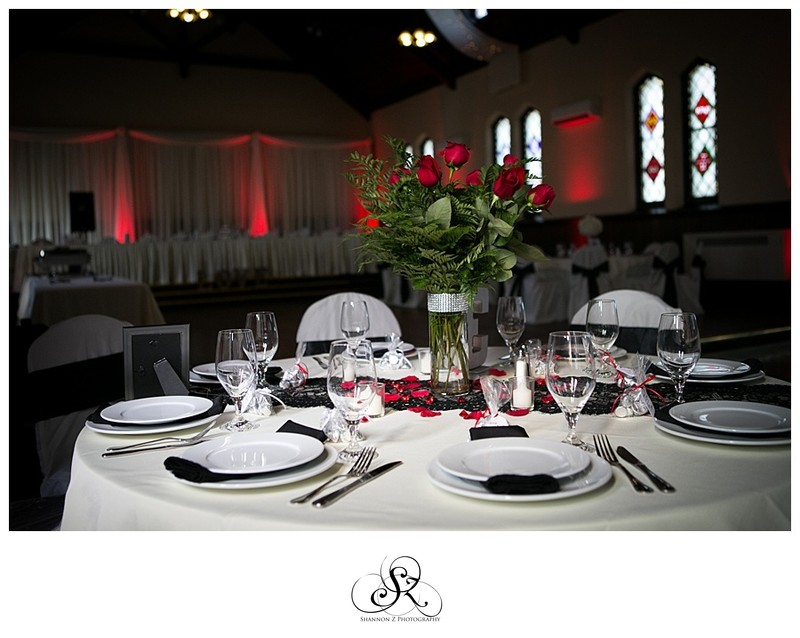 Black and Red Wedding: DeKoven Center