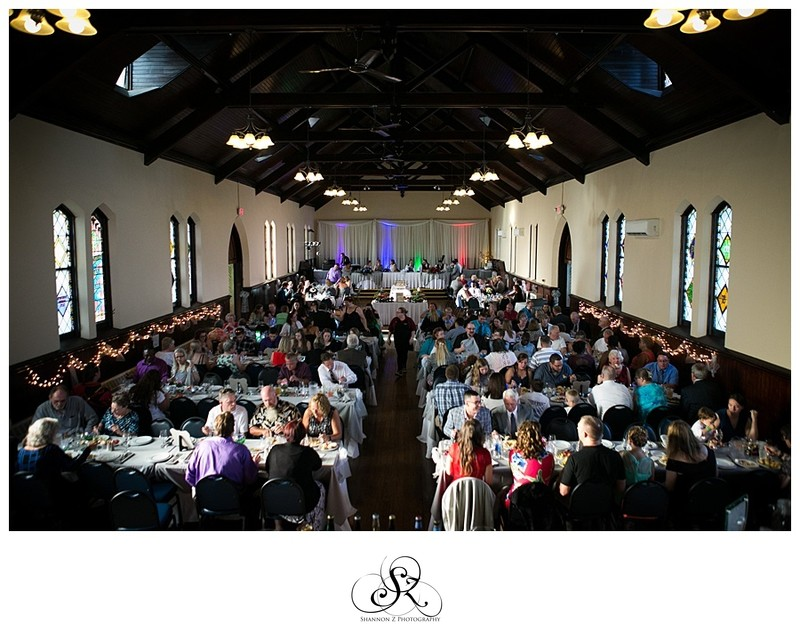 Weddings at DeKoven Center: Reception in Action