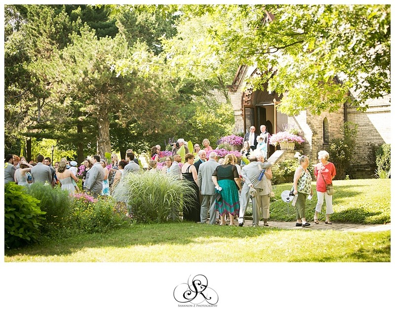 Weddings at DeKoven Center: Garden Cocktail Hour