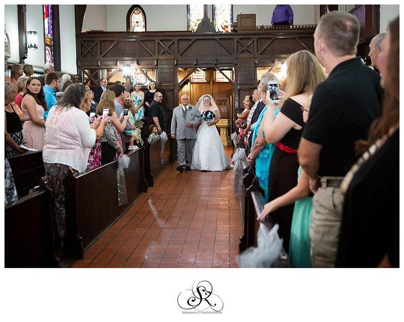Weddings at DeKoven Center: Processional