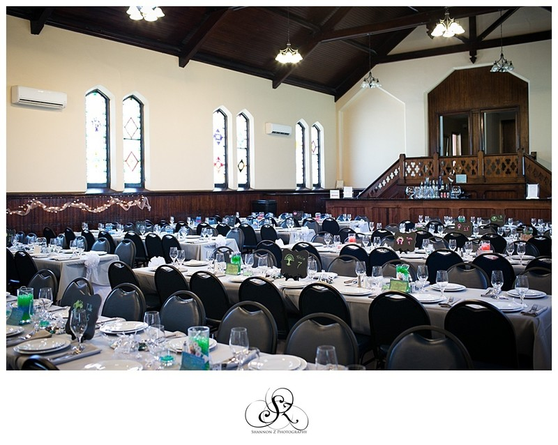 Weddings at DeKoven Center: Reception Hall