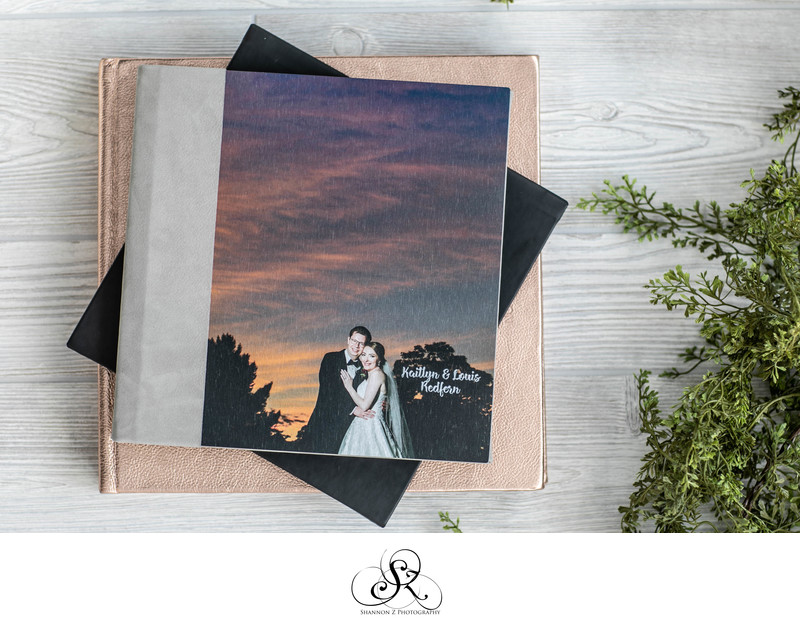 Wedding Albums: Shannon Z Photography