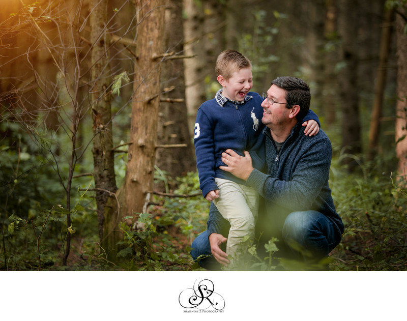 Father and Son: Family Photographer