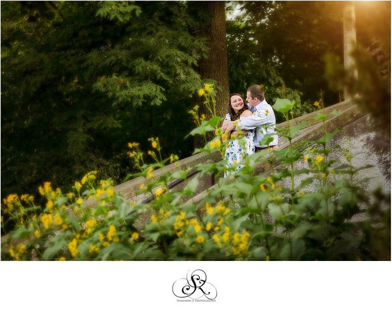 Flowers: Engagement Photos in Milwaukee
