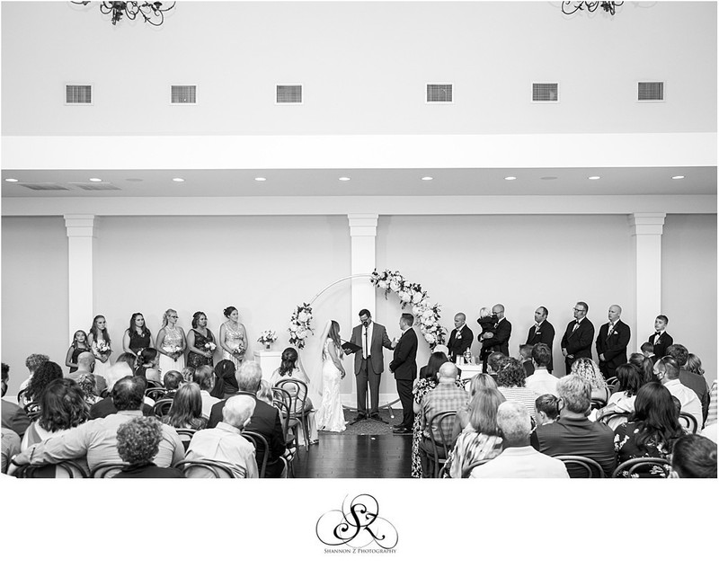 Indoor Ceremony at Circa: Kenosha