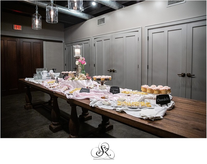 Dessert Table: Weddings at Circa