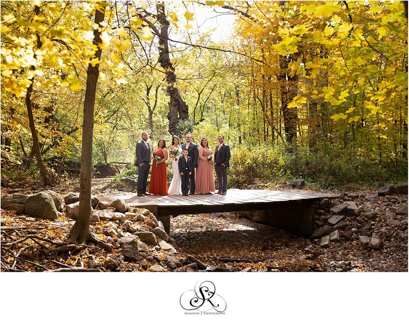 Bridge at Hawthorn Hollow: Wedding Photos