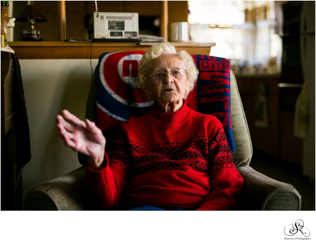 Documentary Photography:  Grandma