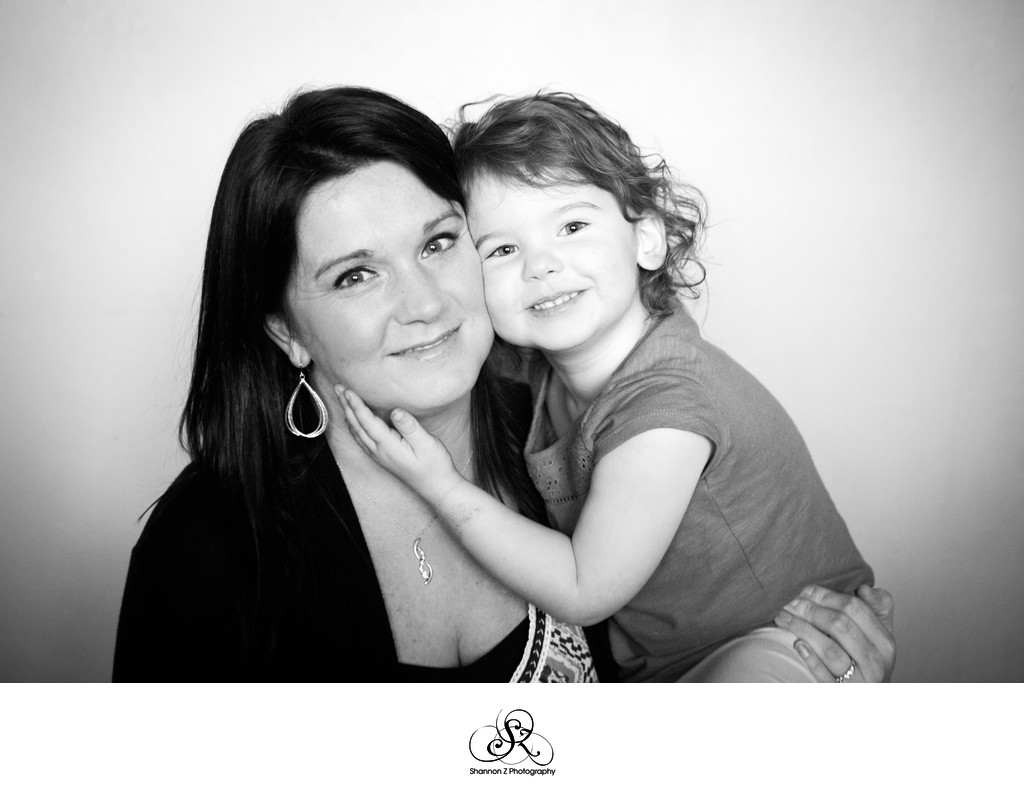 Mom and Daughter:  Kenosha Family Photographer