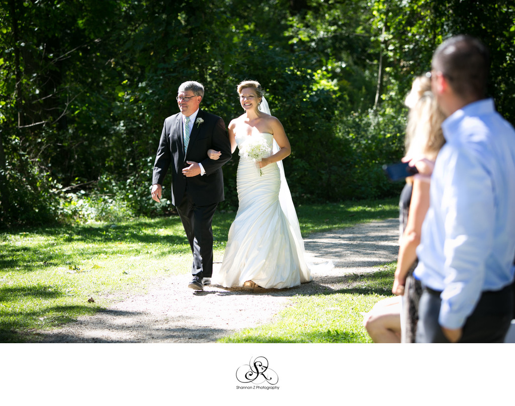 Ceremony in the Woods: Redfield Estates