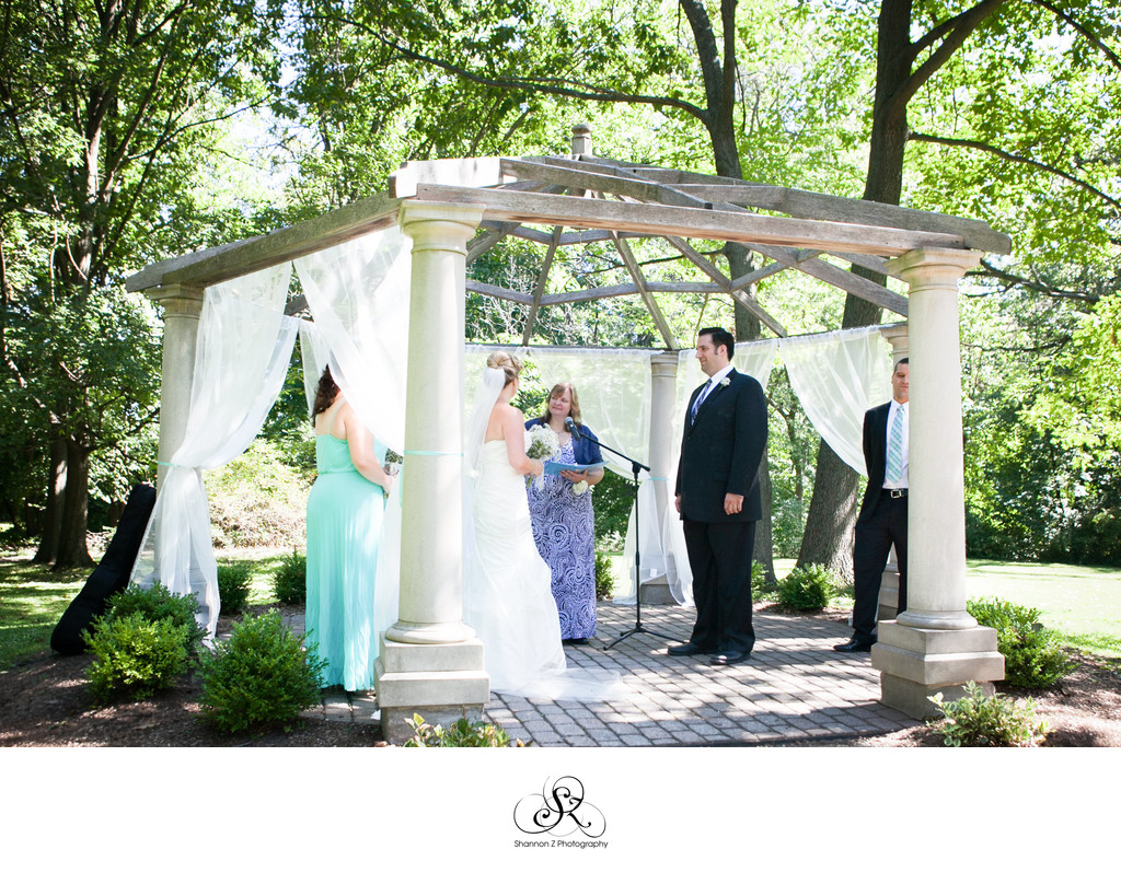 Redfield Estates: Outdoor Wedding Ceremony