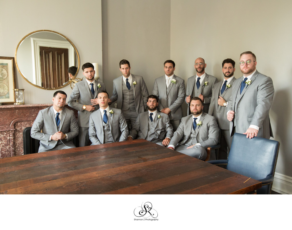 Light Grey Suits: Wedding Attire