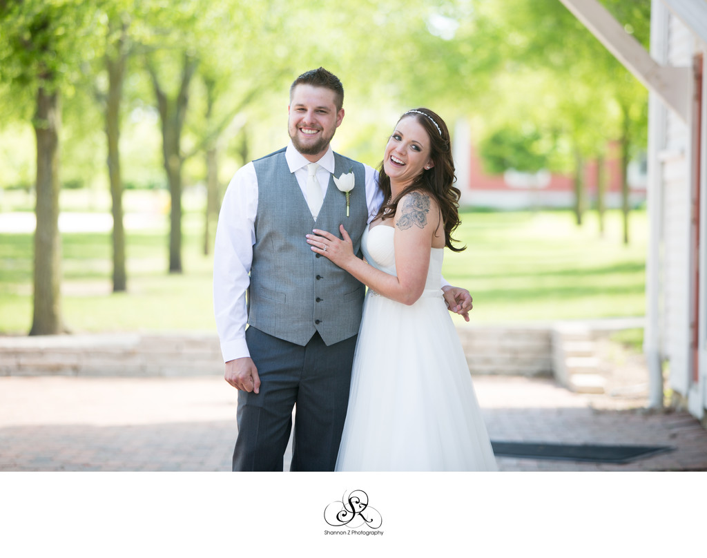 Wedding Couple: Bryon Colby Barn