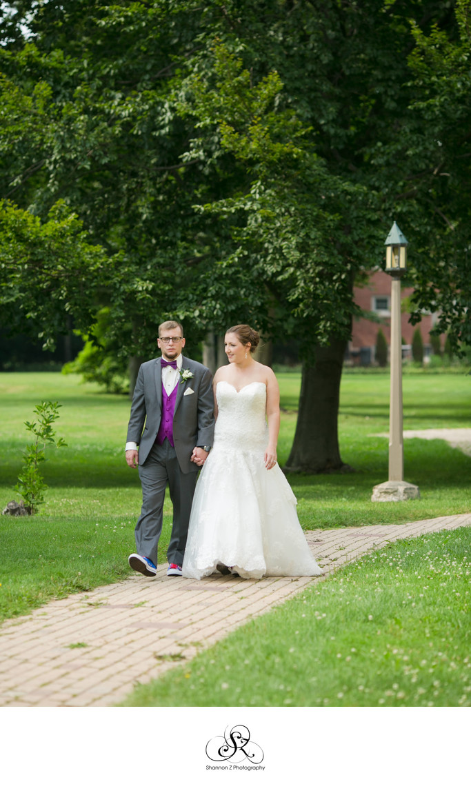 Wedding Stroll: Kemper Center