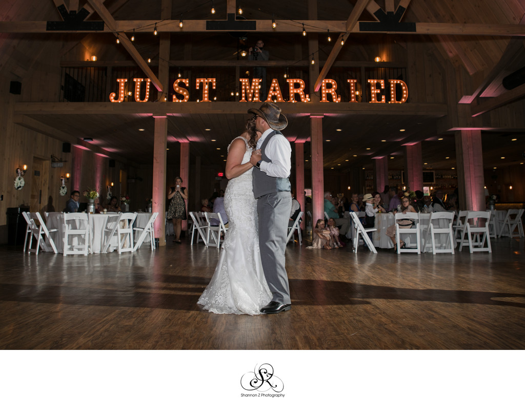 Just Married: Rustic Manor 1848