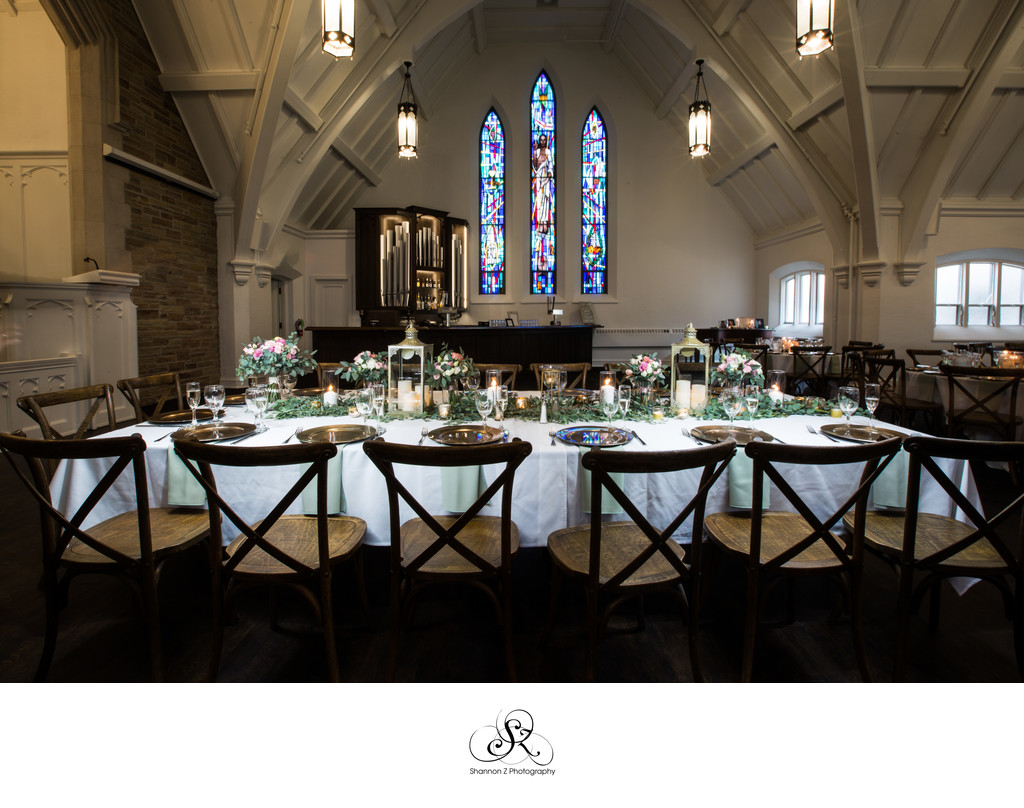 Gorgeous Head Table: The Covenant