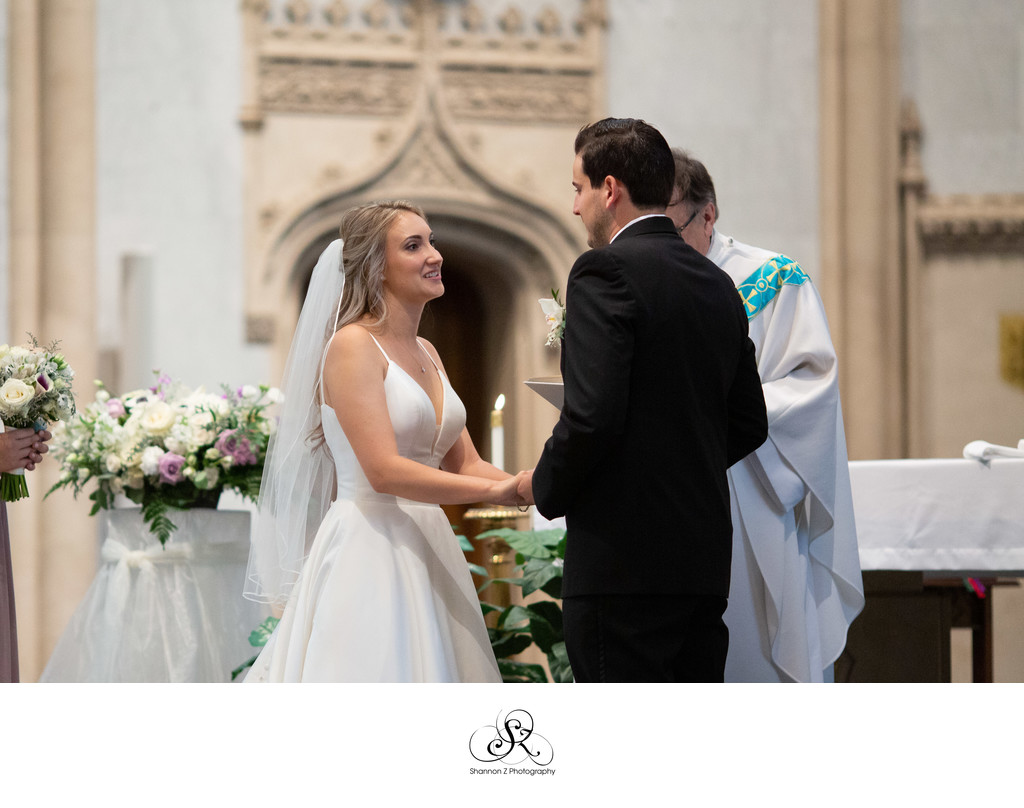 I Do: Church of the Gesu Milwaukee Wedding