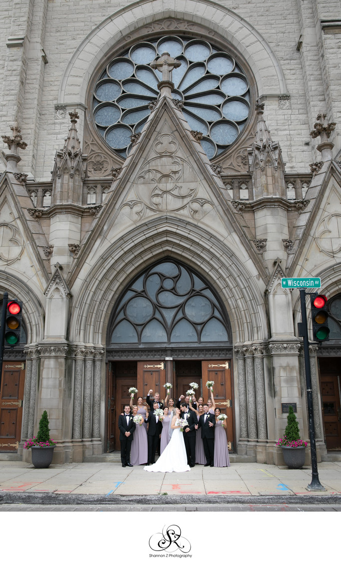 Milwaukee Wedding Photographers: Wedding Party Gesu