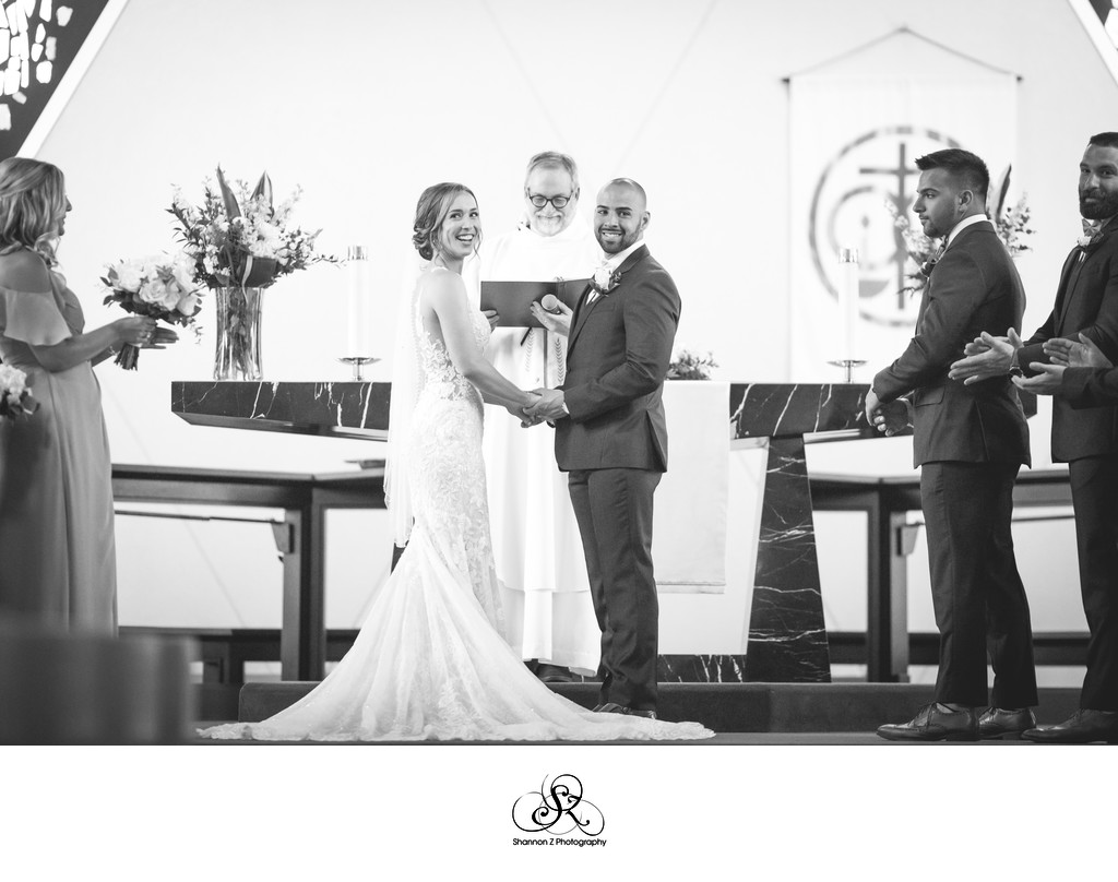 Wedding Ceremony: St. Mary's Lutheran