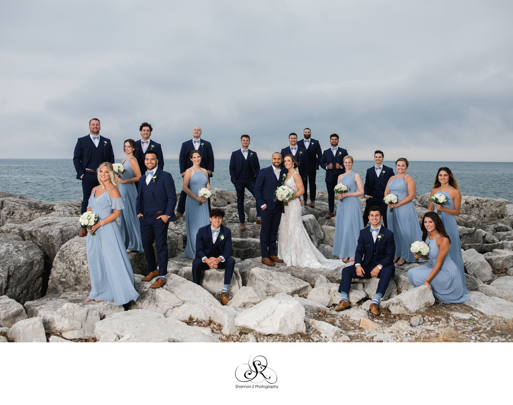 Rock'n the Rocks: Wedding Party