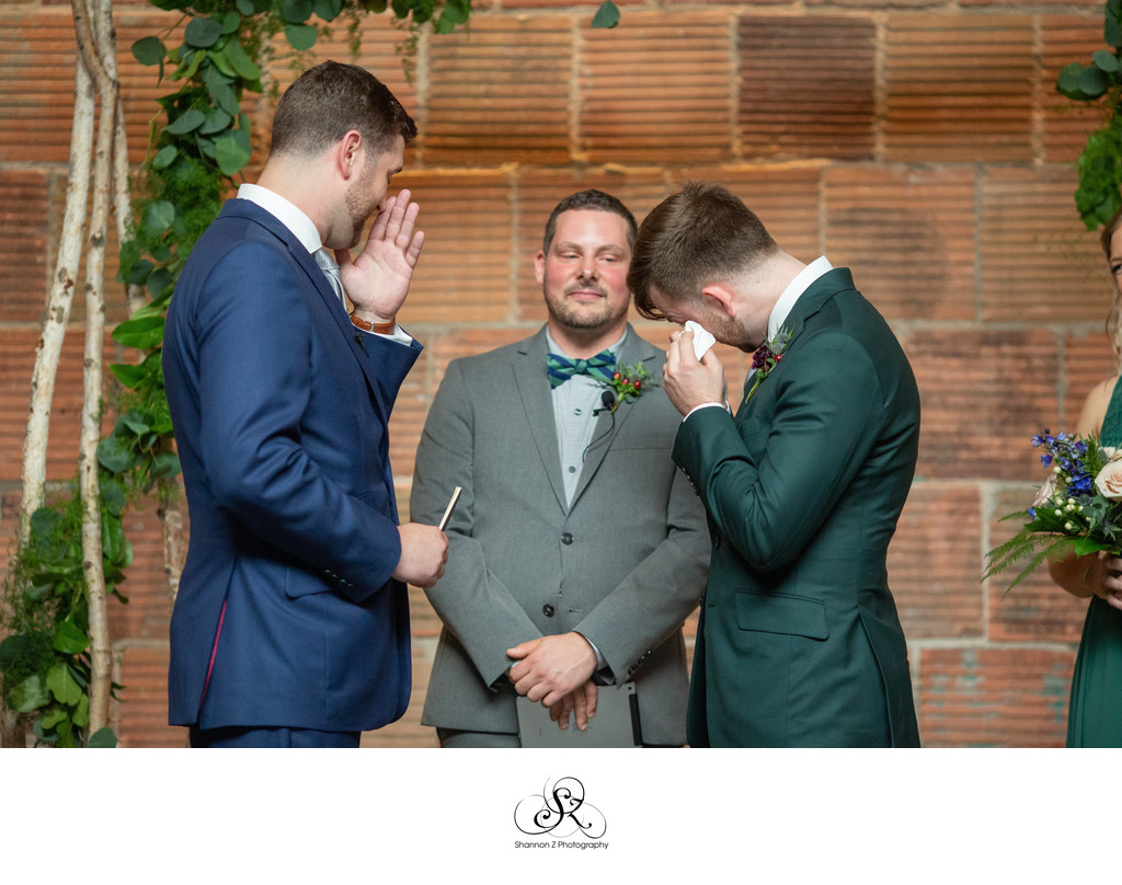 Tears: LGBTQ Friendly Wedding Photography