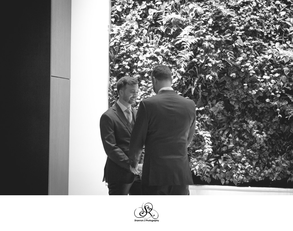 First Look: LGBTQ Friendly Wedding Photography