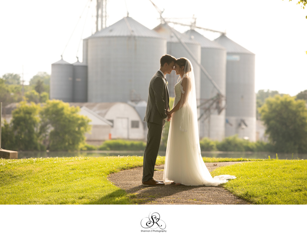 Burlington Wedding Photographer: Sunset