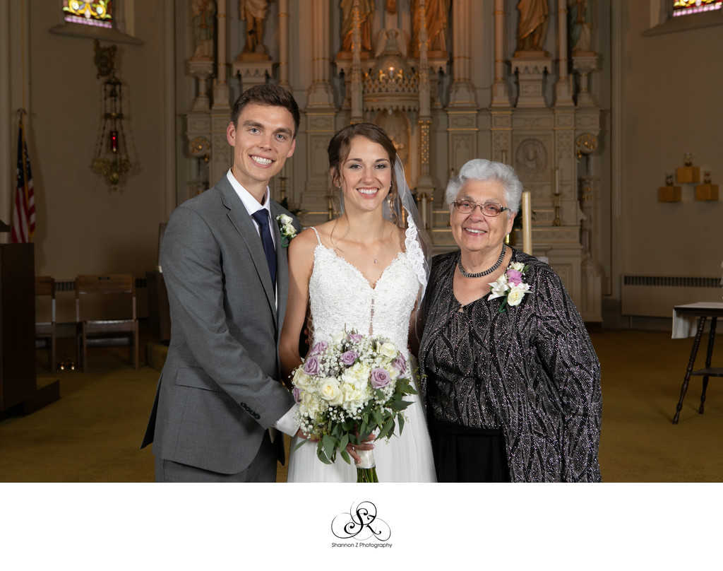 Family Portraits: Wedding Day