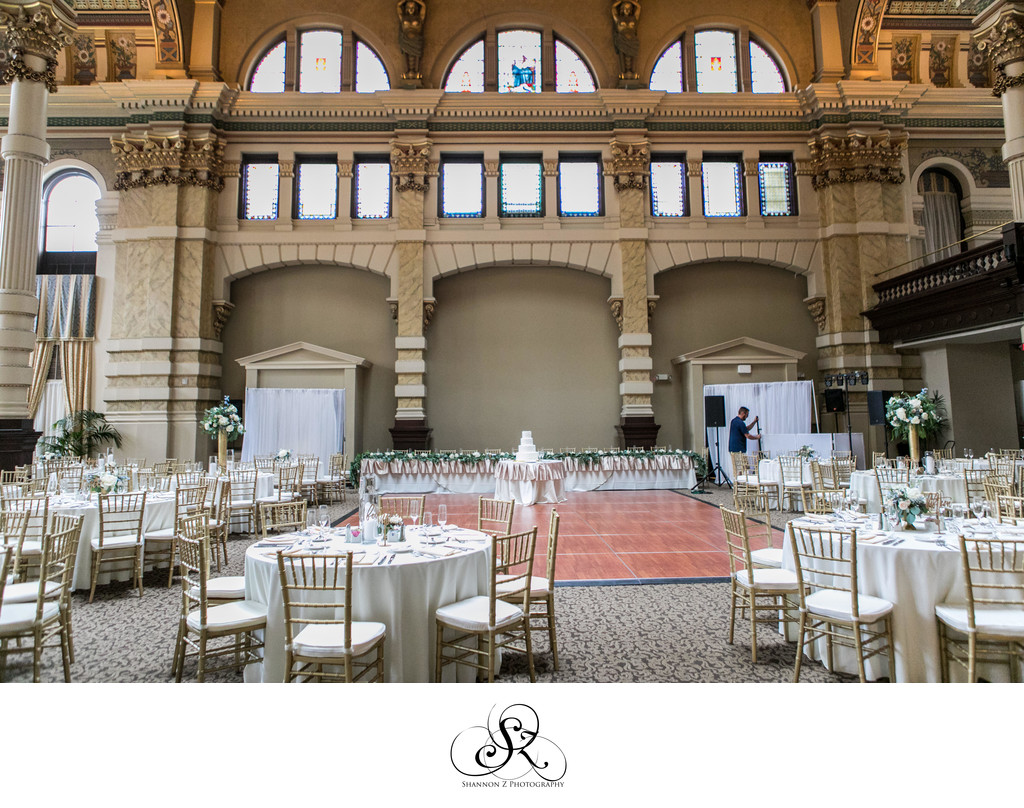 Wedding Reception: The Grain Exchange