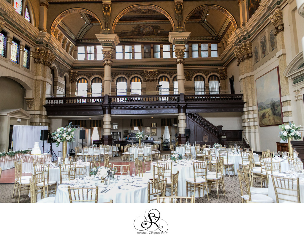 The Grain Exchange: Wedding Reception