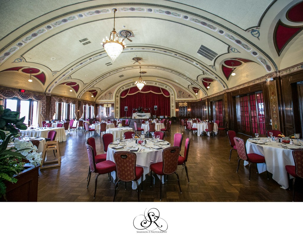 Reception Ballroom: The Wisconsin Club