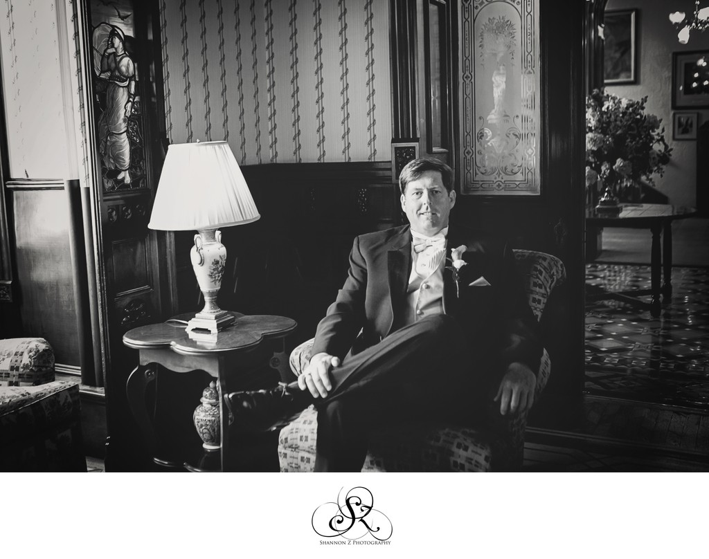 Groom Portrait: The Wisconsin Club