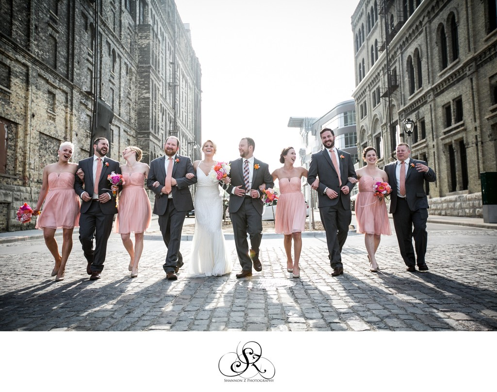 Wedding Party in the Streets: Historic Pabst Brewery