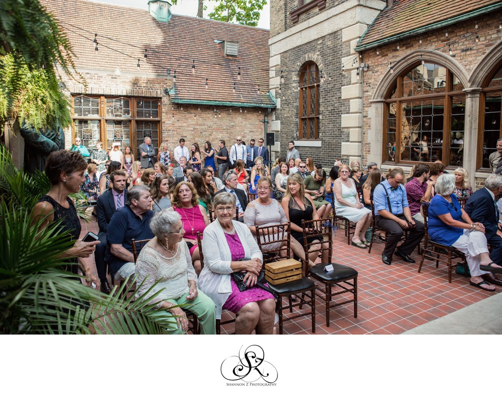 ceremony Guests: Historic Pabst Brewery Wedding