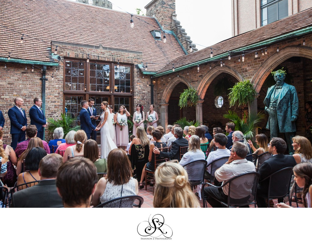 Wedding Ceremony:Historic Pabst Brewery Wedding