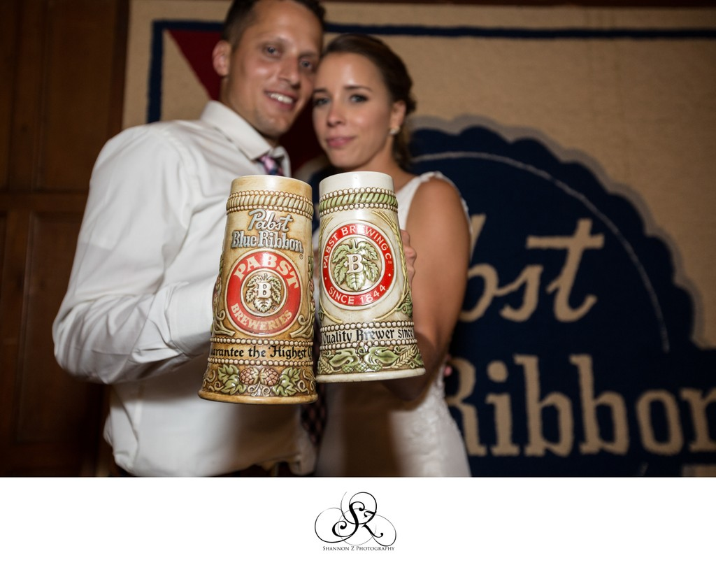 Historic Pabst Brewery Wedding: Pabst Beer