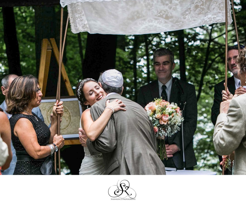 Schlitz Audubon Nature Center: Jewish Wedding
