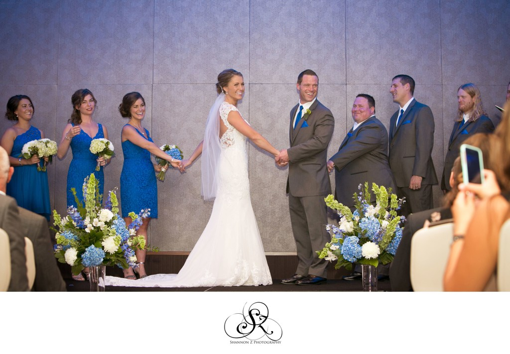 Potawatomi Hotel Weddings: Ceremony
