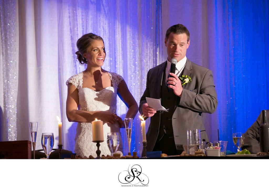 Potawatomi Hotel Weddings: Reception Speech