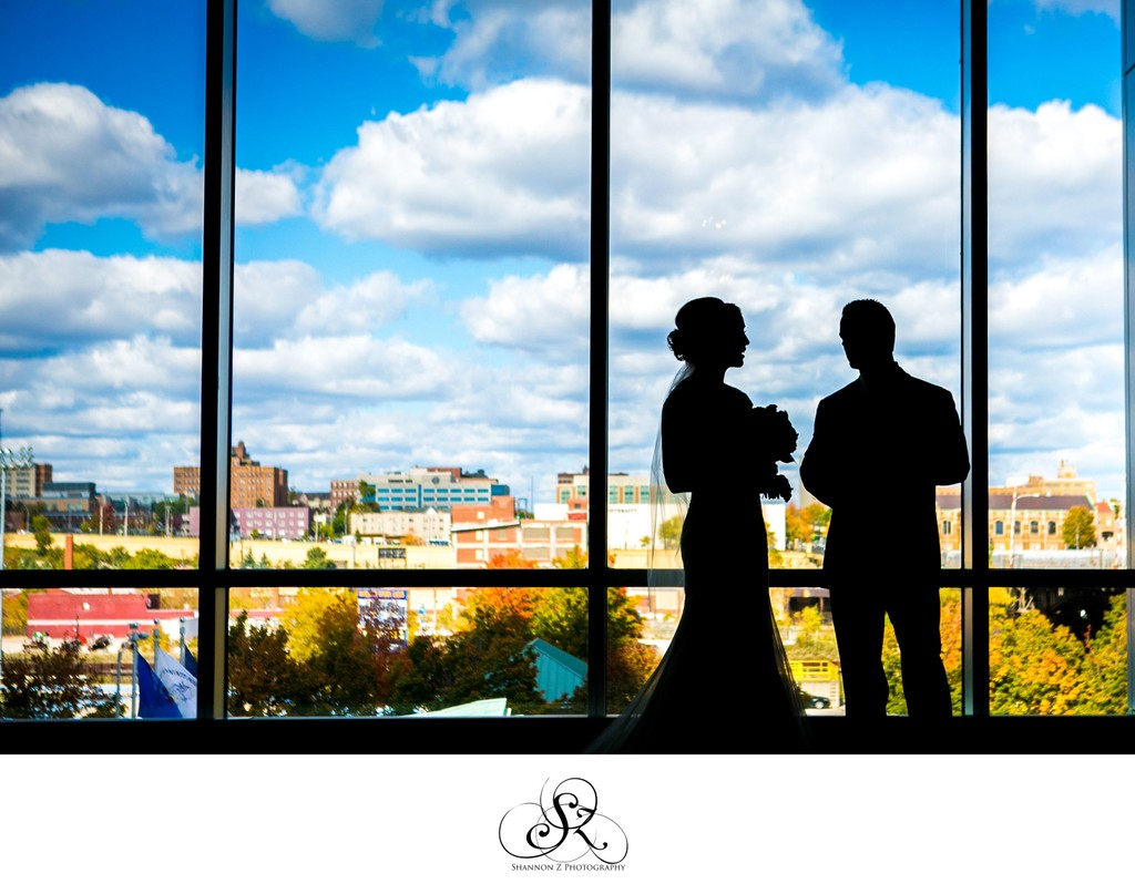 City View: Potawatomi Hotel Weddings