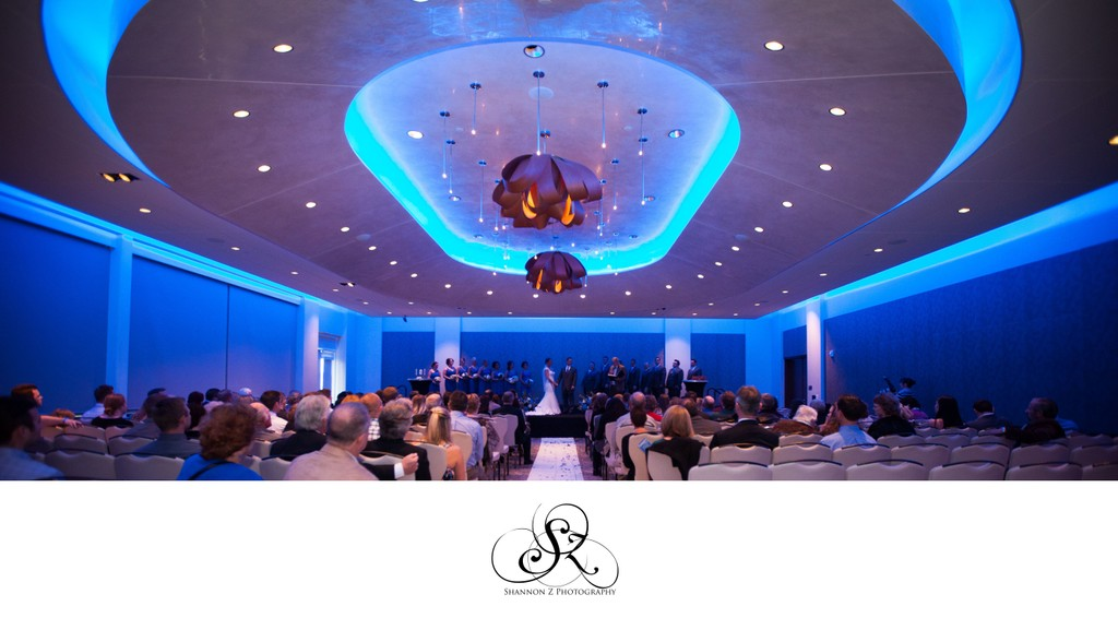 Potawatomi Hotel Weddings: Ceremony Location